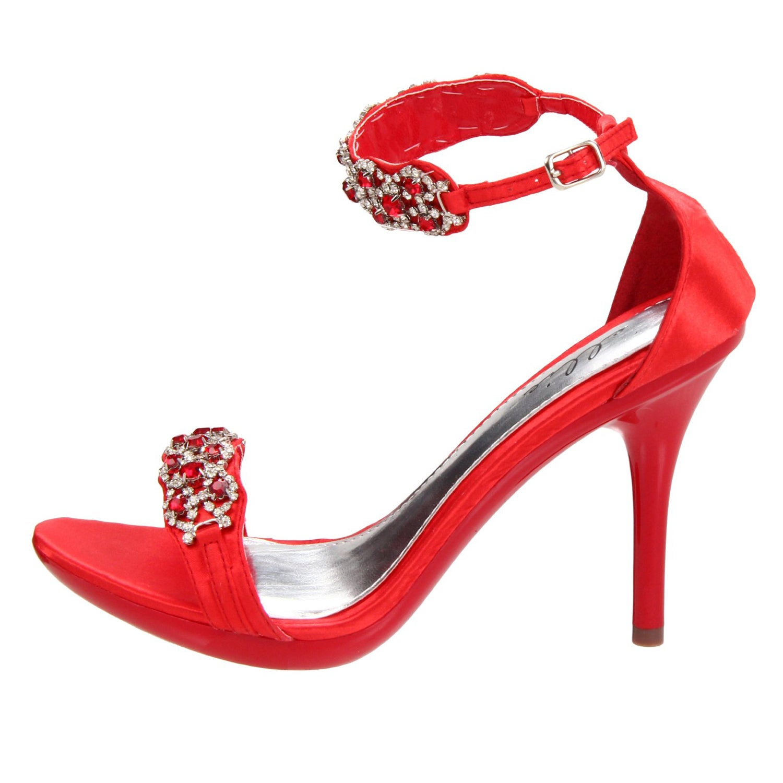 2290722bf88 Shop Ellie  431-Sterling  Women s Rhinestone Heel - Free Shipping Today -  Overstock - 8546453