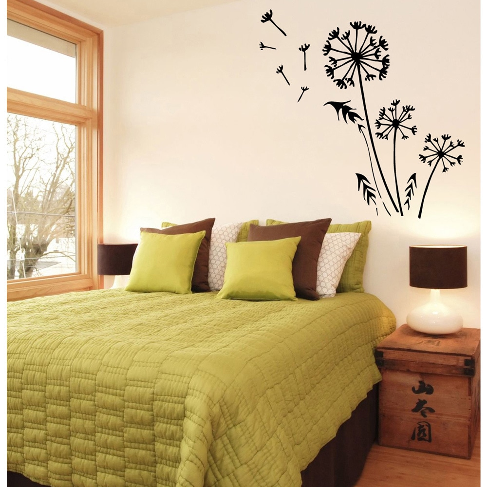 Shop Dandelion Vinyl Wall Decal - Free Shipping On Orders Over $45 ...
