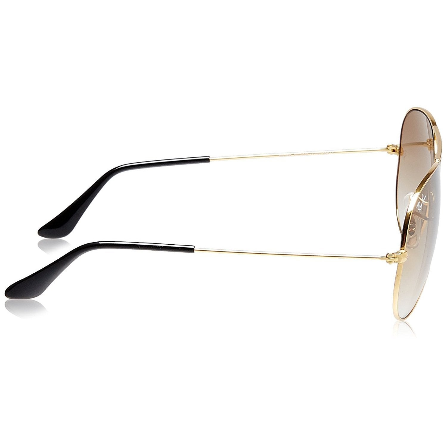6e8cfc582fa Shop Ray-Ban Aviator  RB3025  Unisex Gold Frame Light Brown Gradient Lens  Sunglasses - On Sale - Free Shipping Today - Overstock - 8546523