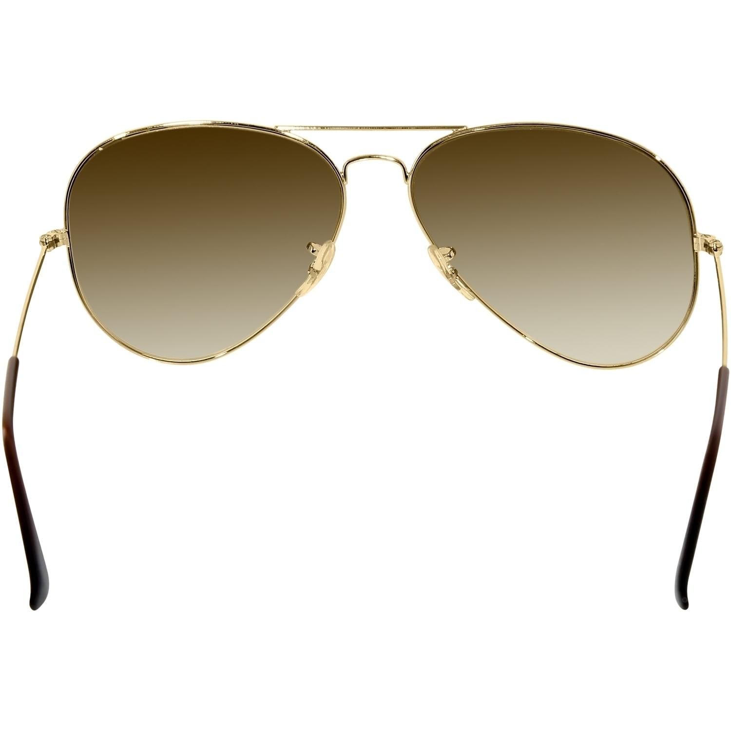 dca4535297 ... where to buy shop ray ban aviator rb3025 unisex gold frame light brown  gradient lens sunglasses ...