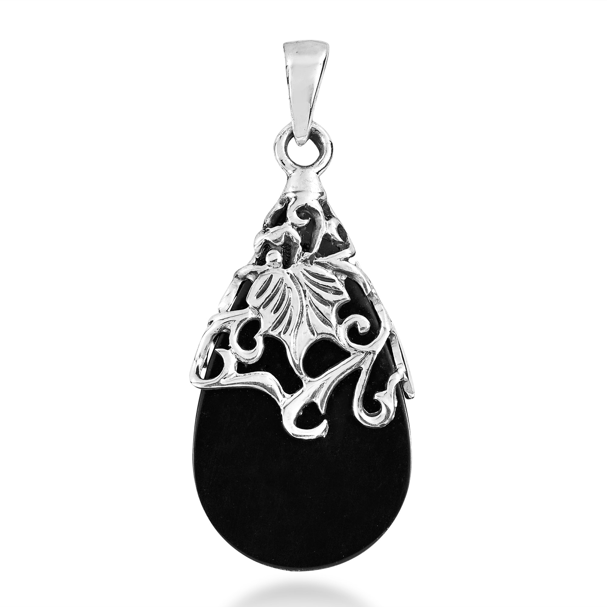 pendants handmade silver pp kabbalah plain aeravida products details flower of sterling pendant life product ball