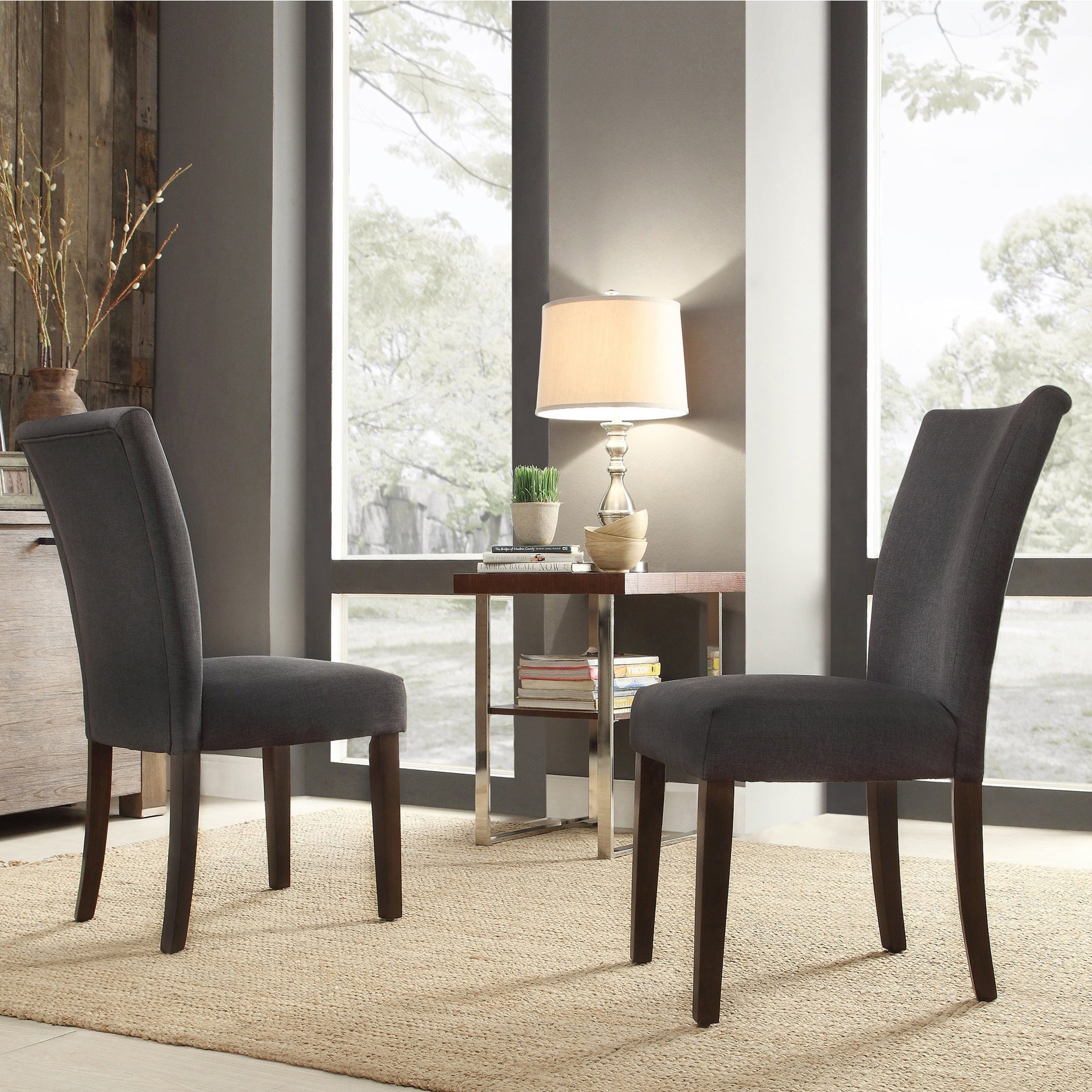 Catherine Parsons Dining Chair (Set Of 2) By INSPIRE Q Bold   Free Shipping  Today   Overstock.com   15829209