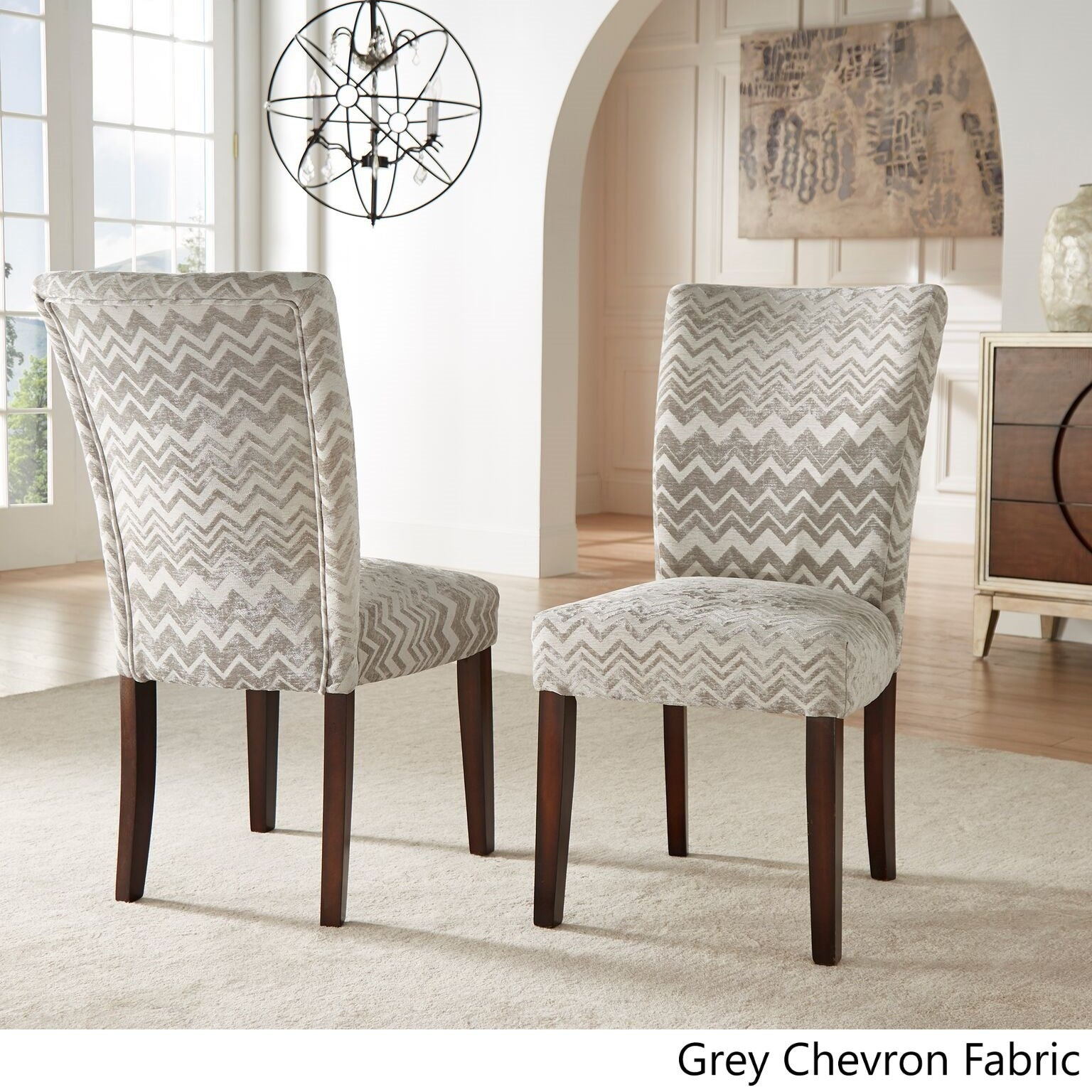 Shop Catherine Print Parsons Dining Side Chair (Set Of 2) By INSPIRE Q Bold    On Sale   Free Shipping Today   Overstock.com   8551271