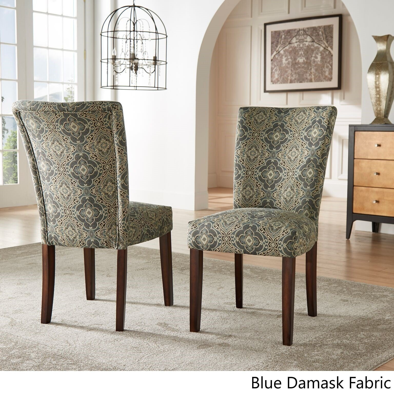 Beau Shop Catherine Print Parsons Dining Side Chair (Set Of 2) By INSPIRE Q Bold    On Sale   Free Shipping Today   Overstock.com   8551271