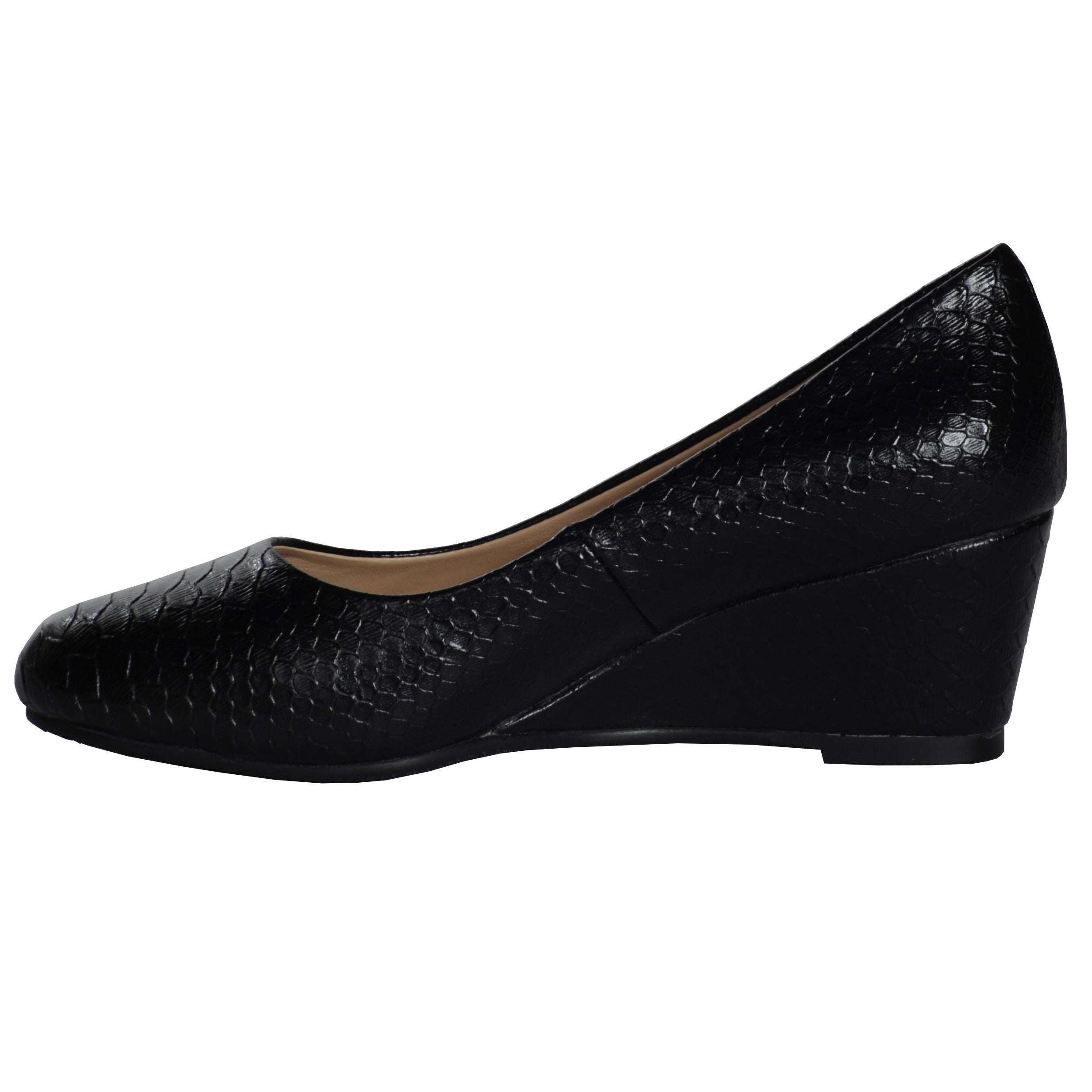 da28215adf7 Shop Ann Creek Women s  Venable  Wedge Pump Shoes - Free Shipping Today -  Overstock - 8553866