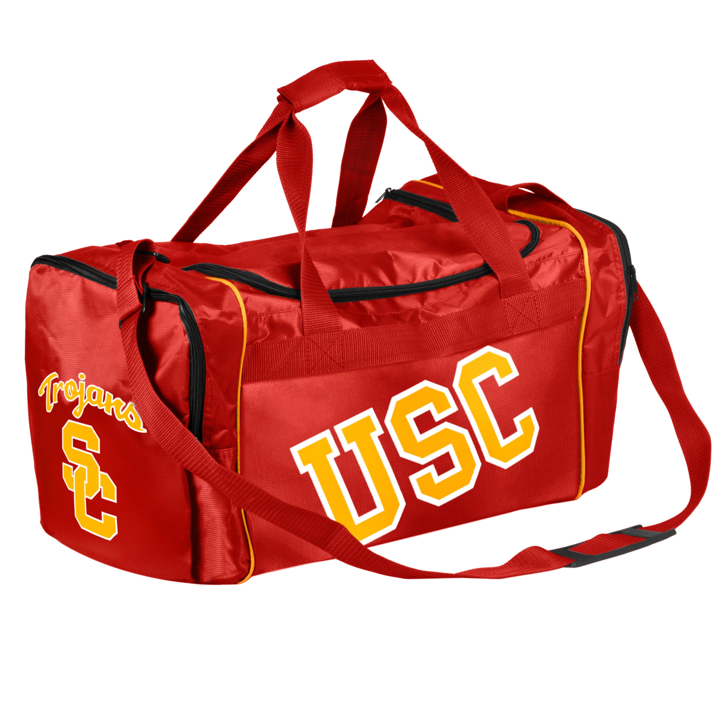 069231b1cae Shop Forever CollectiblesNCAA USC Trojans 21-inch Core Duffle Bag - Free  Shipping On Orders Over  45 - Overstock - 8554331