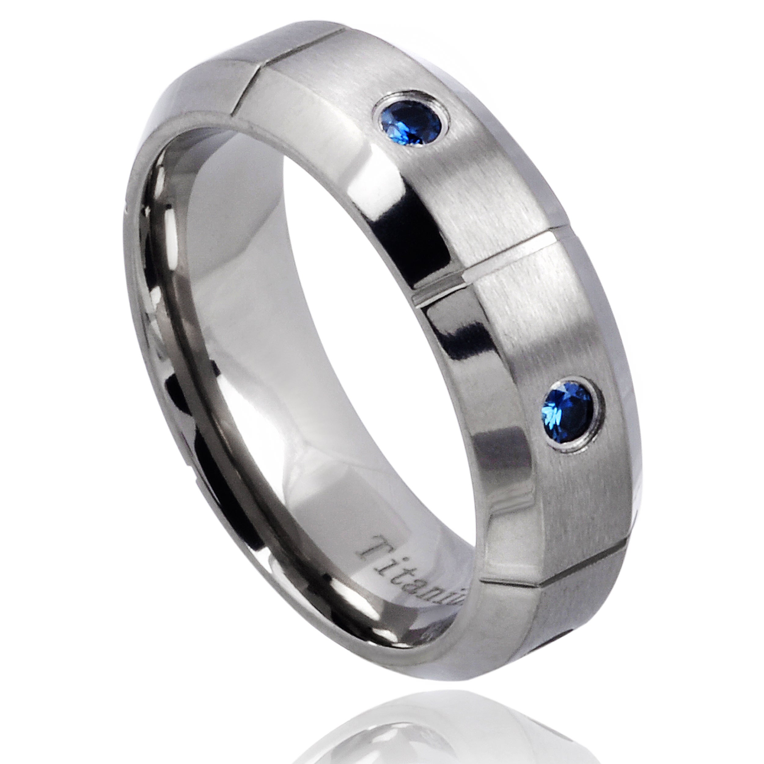 in beautiful band rings tungsten sapphire black wedding of mens