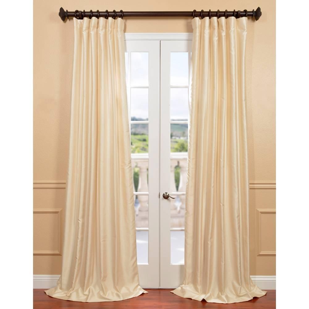 solid oasis silk dupioni heading curtains made green custom eyelet