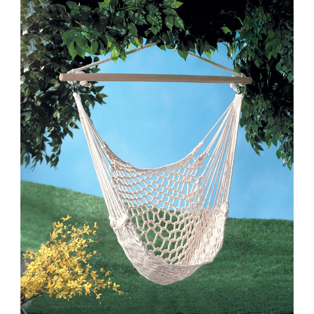 White Hammock Chair - Free Shipping On Orders Over $45 - Overstock.com -  15838351