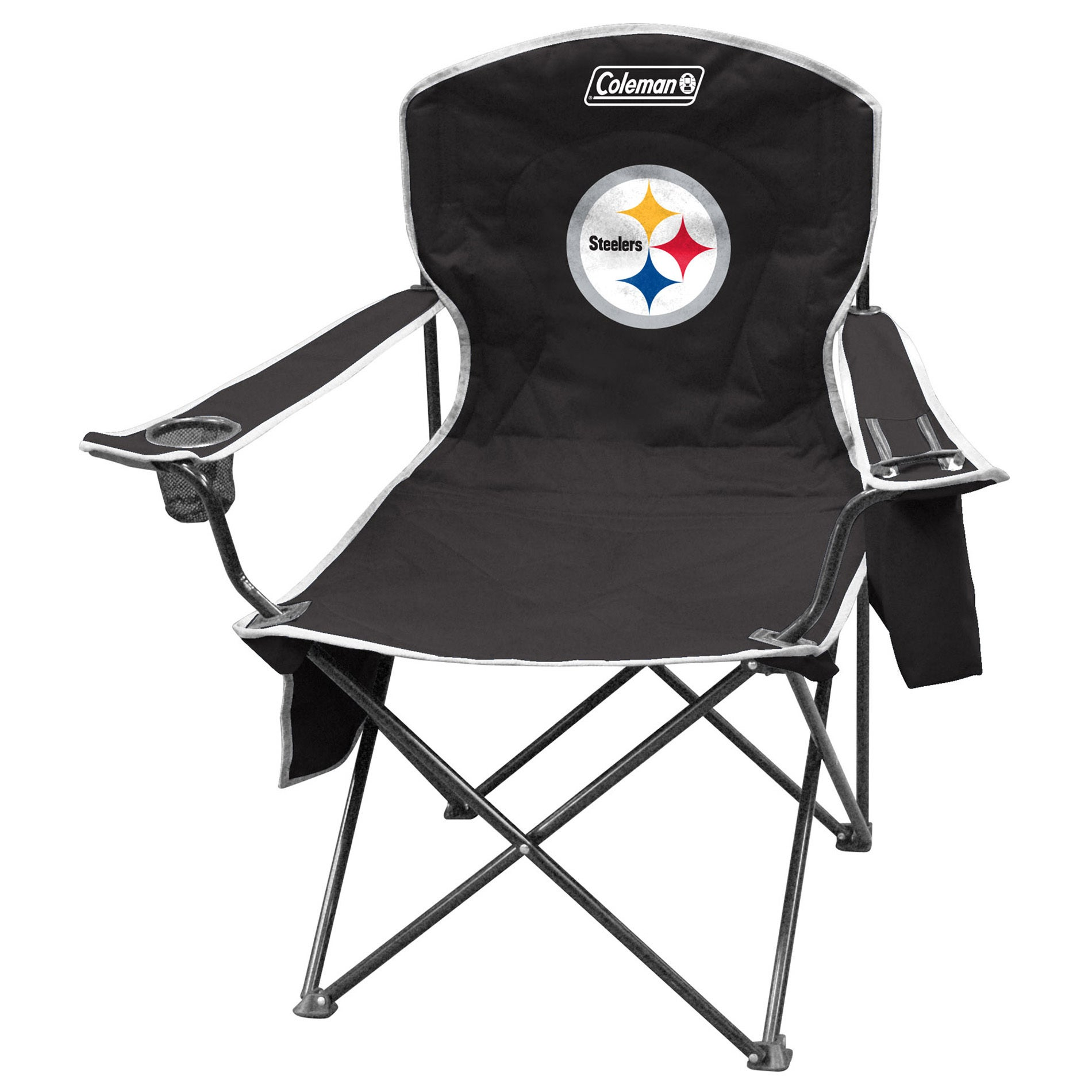 Merveilleux Shop Coleman NFL Pittsburgh Steelers XL Cooler Quad Chair   Free Shipping  On Orders Over $45   Overstock.com   8572439