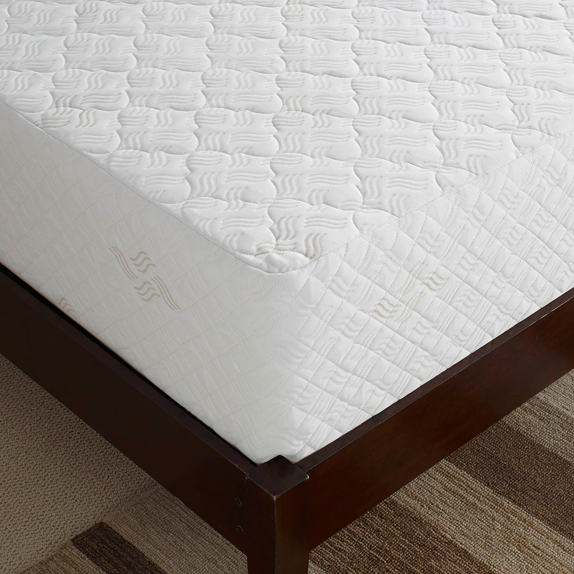 Touch of fort Deluxe 12 inch Queen size Memory Foam Mattress