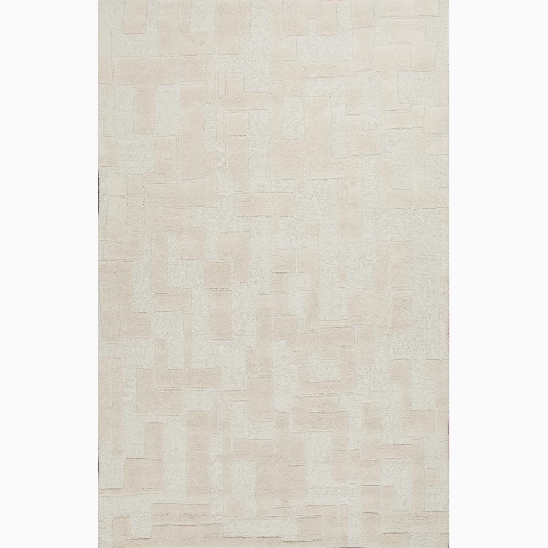 Hand-Made Ivory/ White Wool Textured Rug (2X3) - 2 x 3 - Free ...