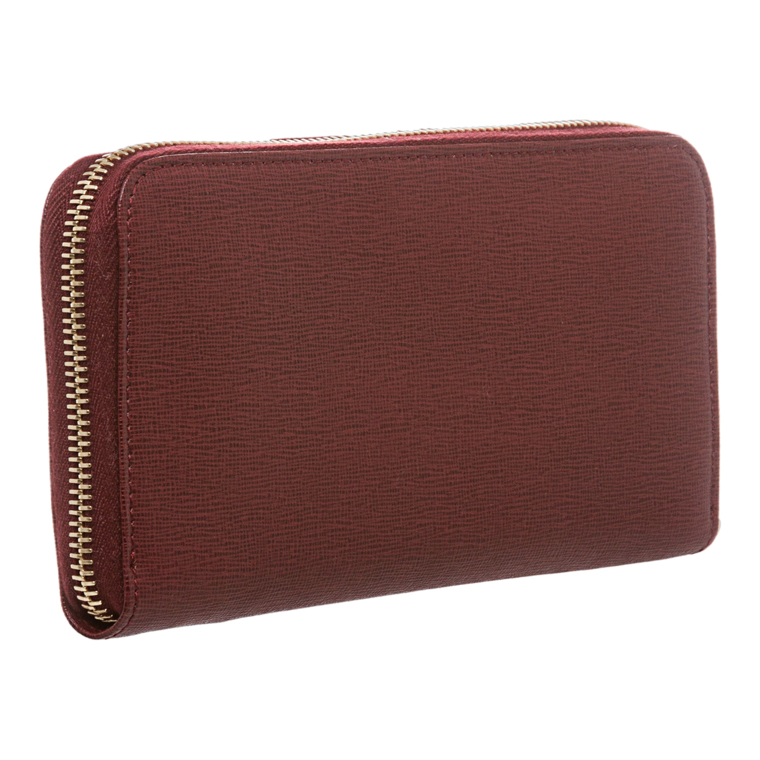 837aa21131 Shop Fendi Crayons Red Leather Zip-Around Wallet - Free Shipping Today -  Overstock - 8577838