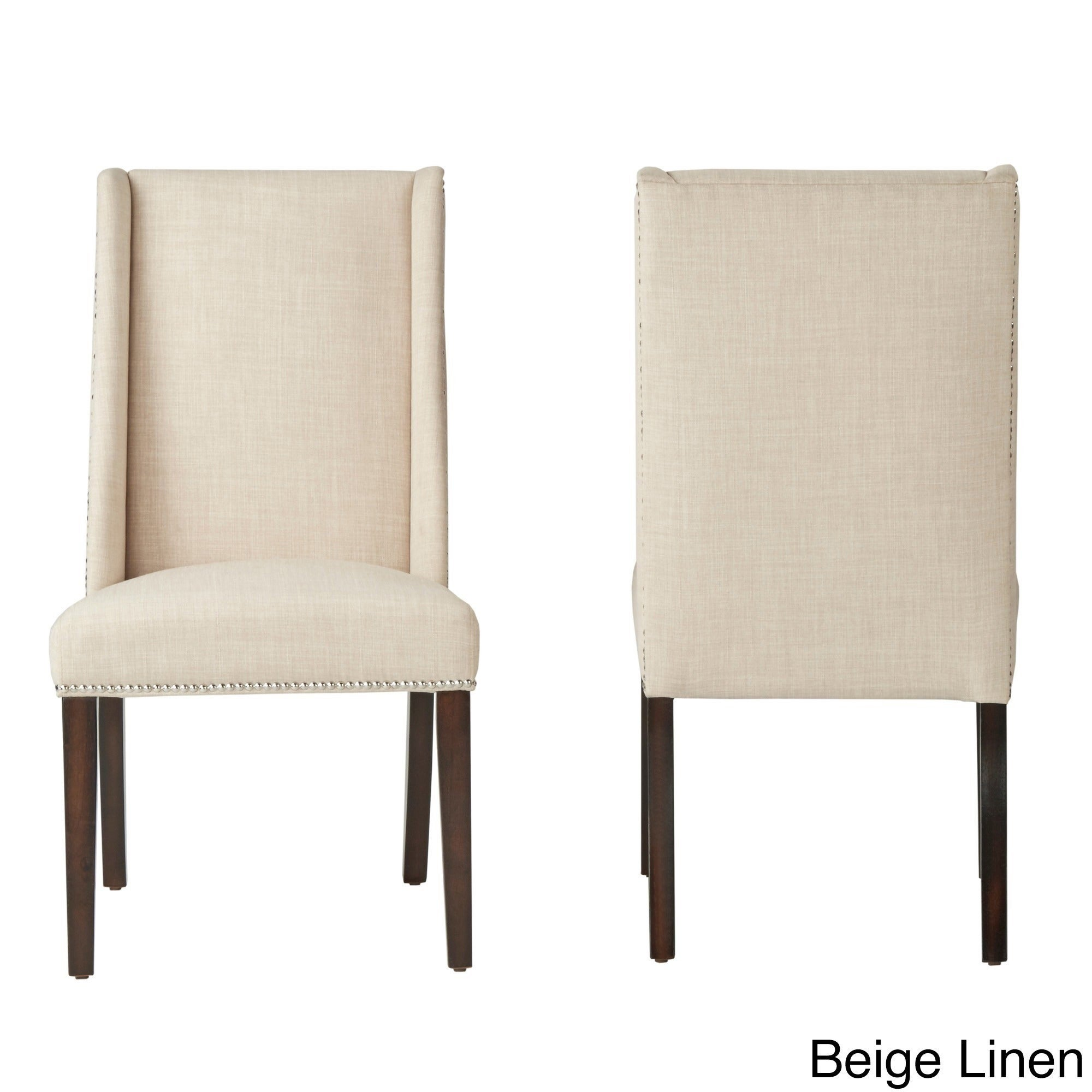Geneva Wingback Hostess Chairs by iNSPIRE Q Bold (Set of 2) - Free Shipping  Today - Overstock.com - 15851624