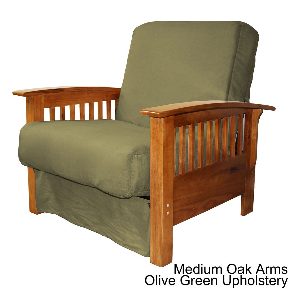 Pine Canopy Shenandoah Mission Style Pillow Top Chair On Free Shipping Today Com 20469479
