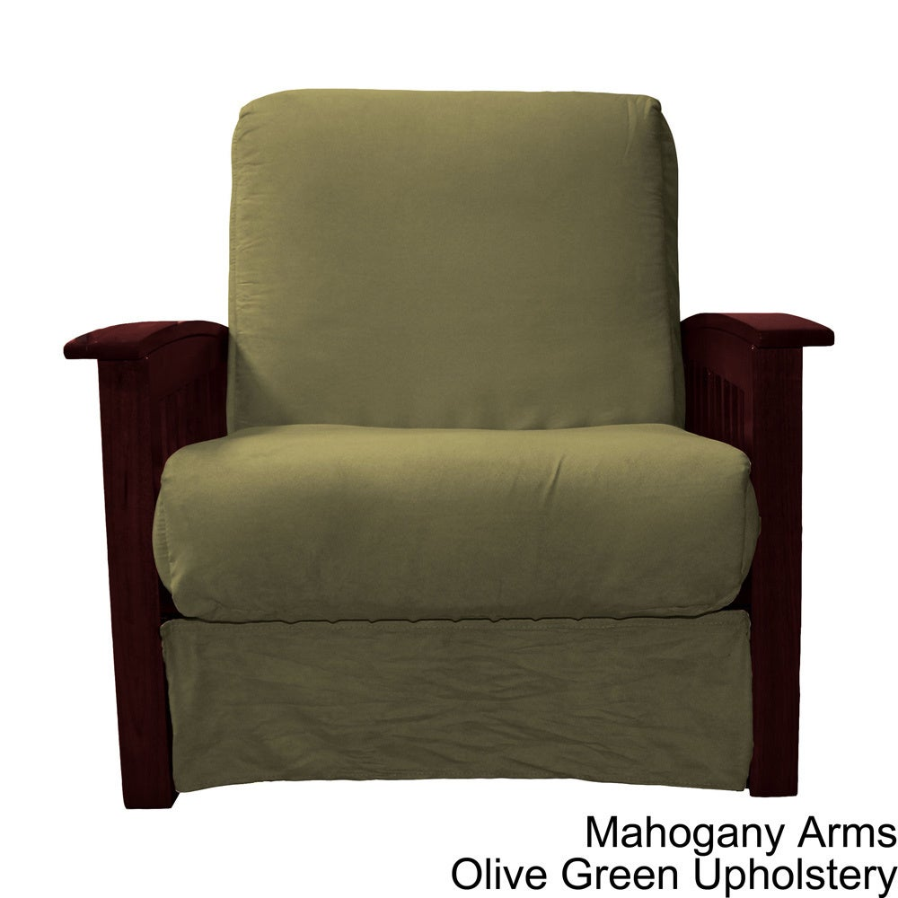 Shop copper grove shenandoah mission style pillow top chair on sale free shipping today overstock com 20469479