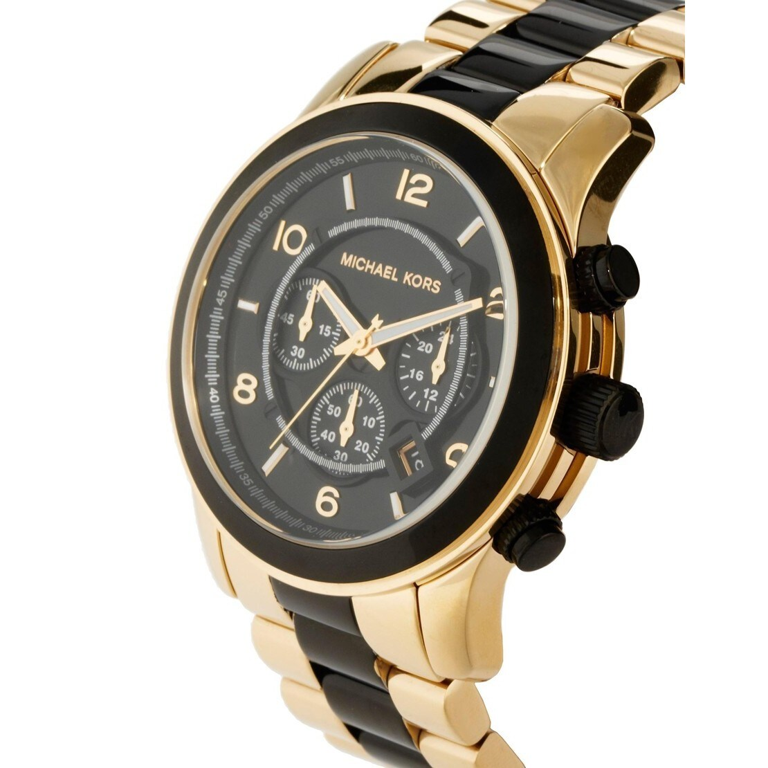9cca81a33ebc Shop Michael Kors Men s MK8265 Chronograph Black Dial Watch - Free Shipping  Today - Overstock - 8582935