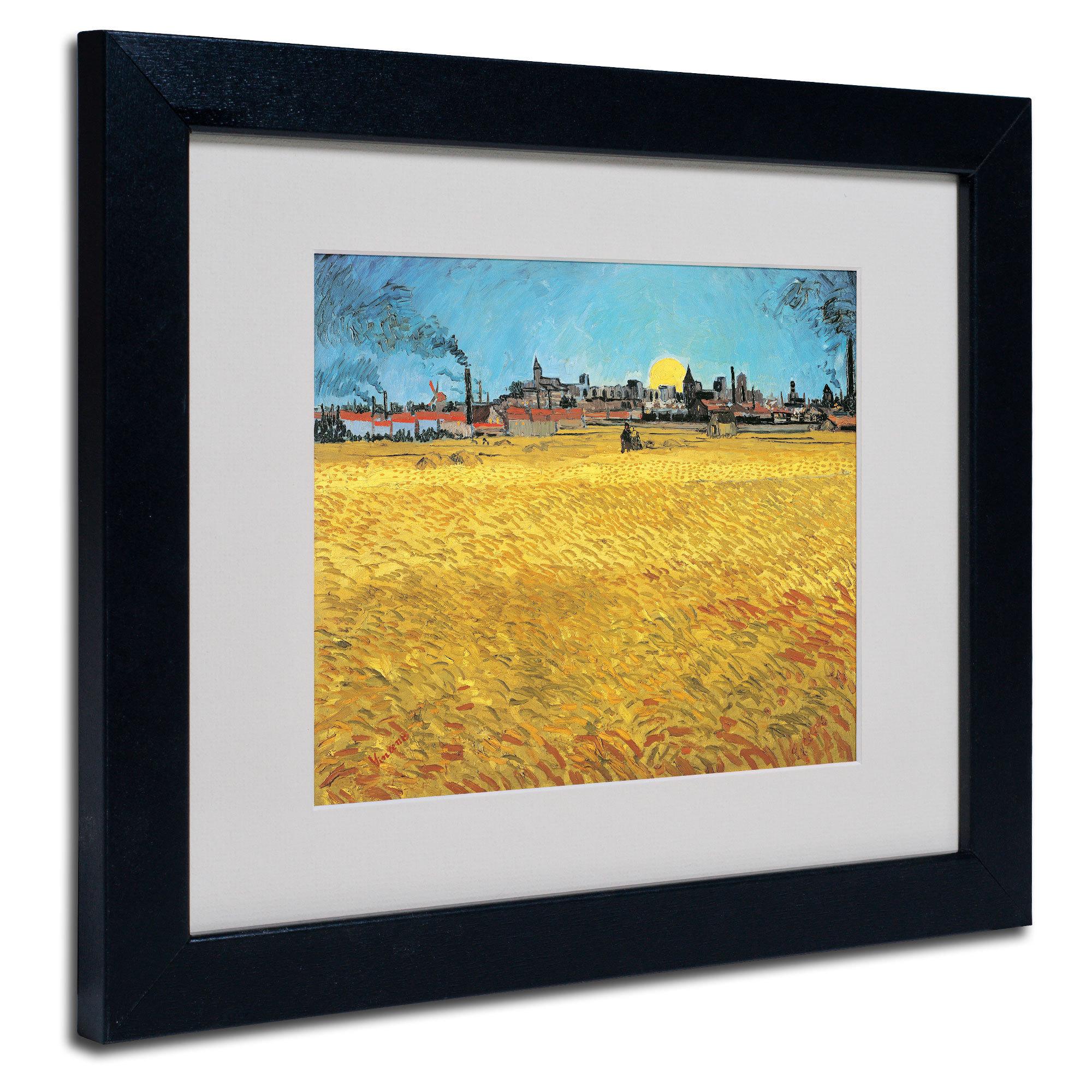 Vincent van Gogh \'Summer Evening 1888\' Framed Matted Art - Free ...