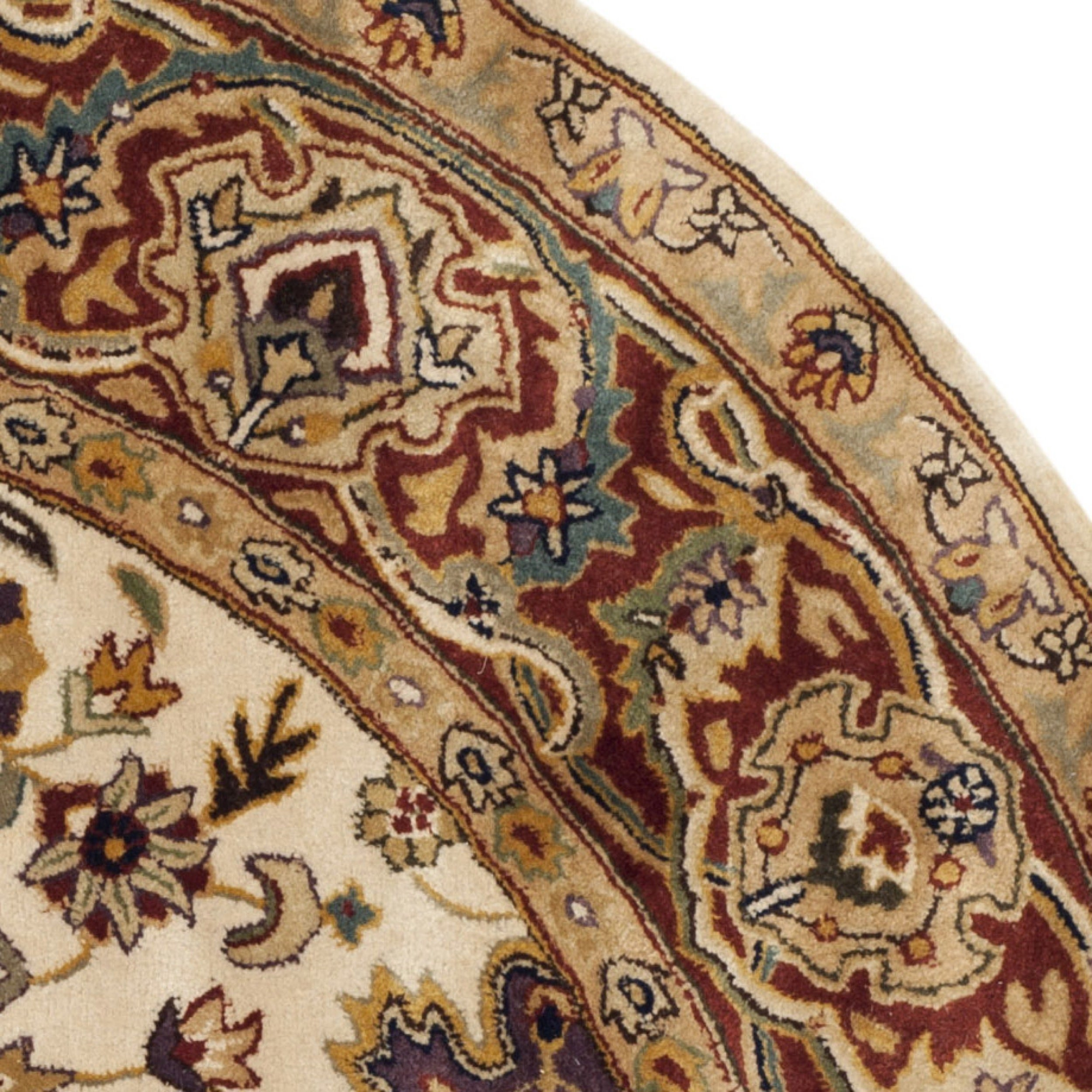 Safavieh Handmade Persian Legend Ivory Rust Wool