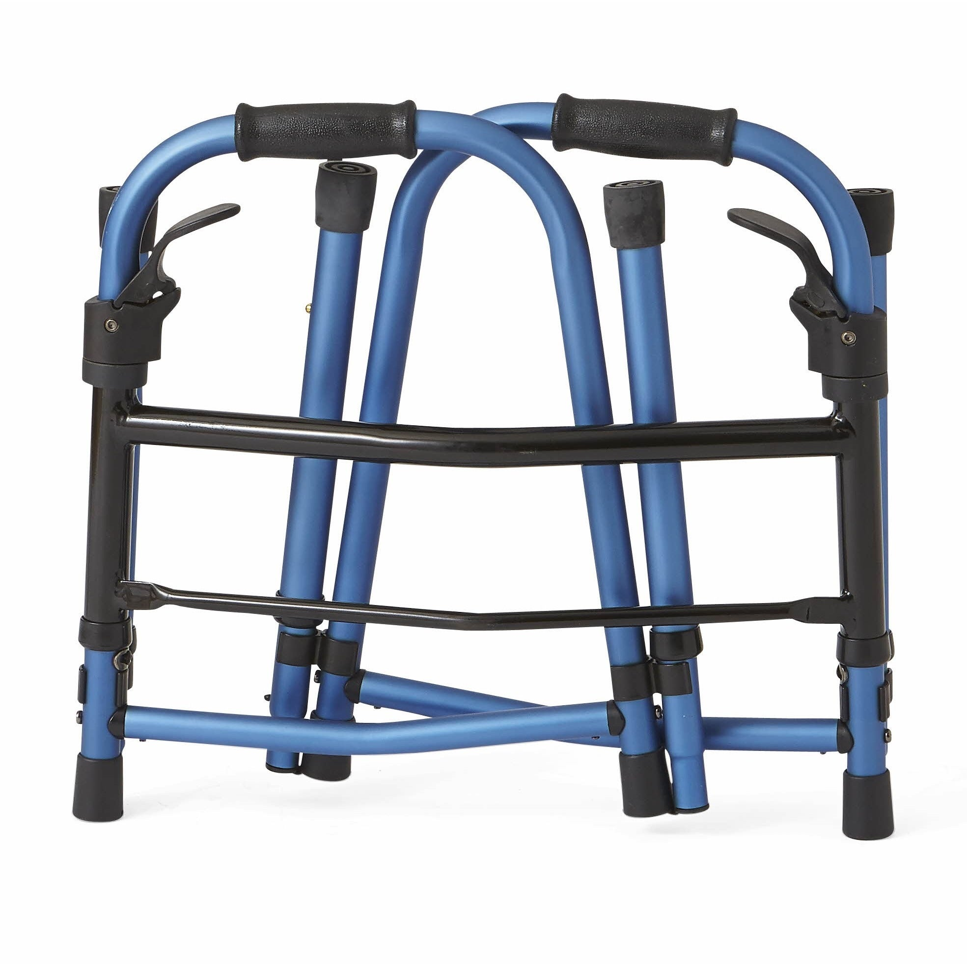 Medline Compact Folding Walker with Paddle Release - Free Shipping ...