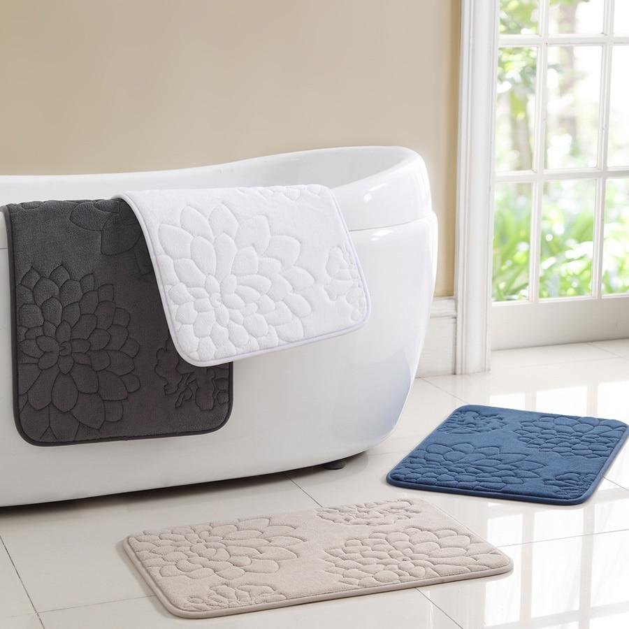 VCNY Kaden Memory Foam 2-piece Bath Mat Set - Free Shipping On ...