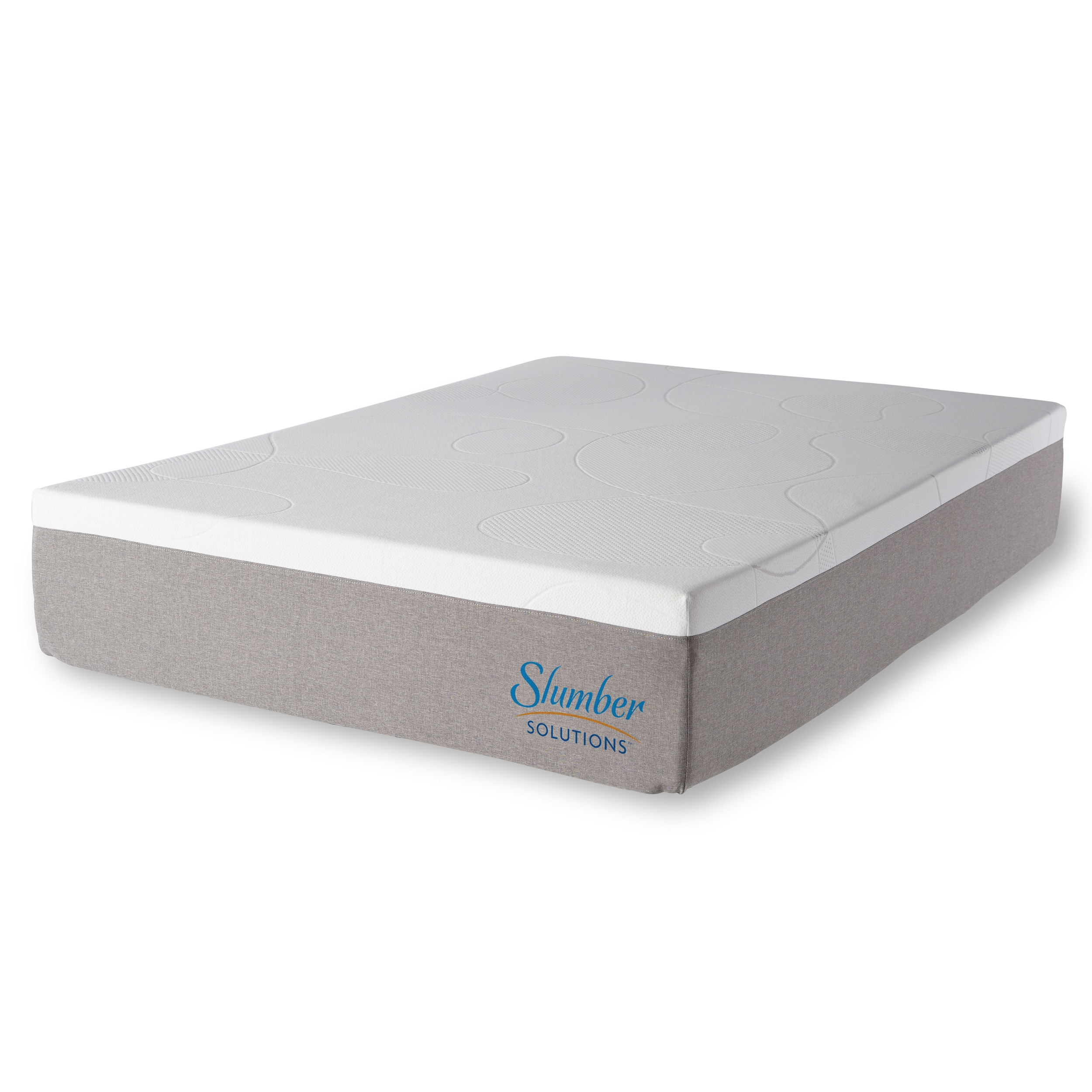 Slumber Solutions Choose Your fort 12 inch Twin size Gel Memory