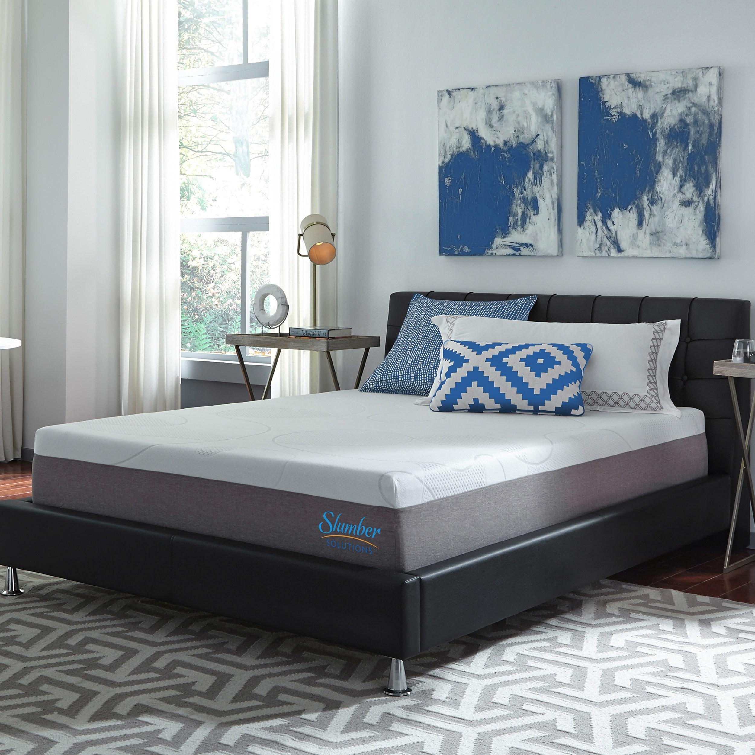 Shop Slumber Solutions Choose Your Comfort 12 Inch Gel Memory Foam