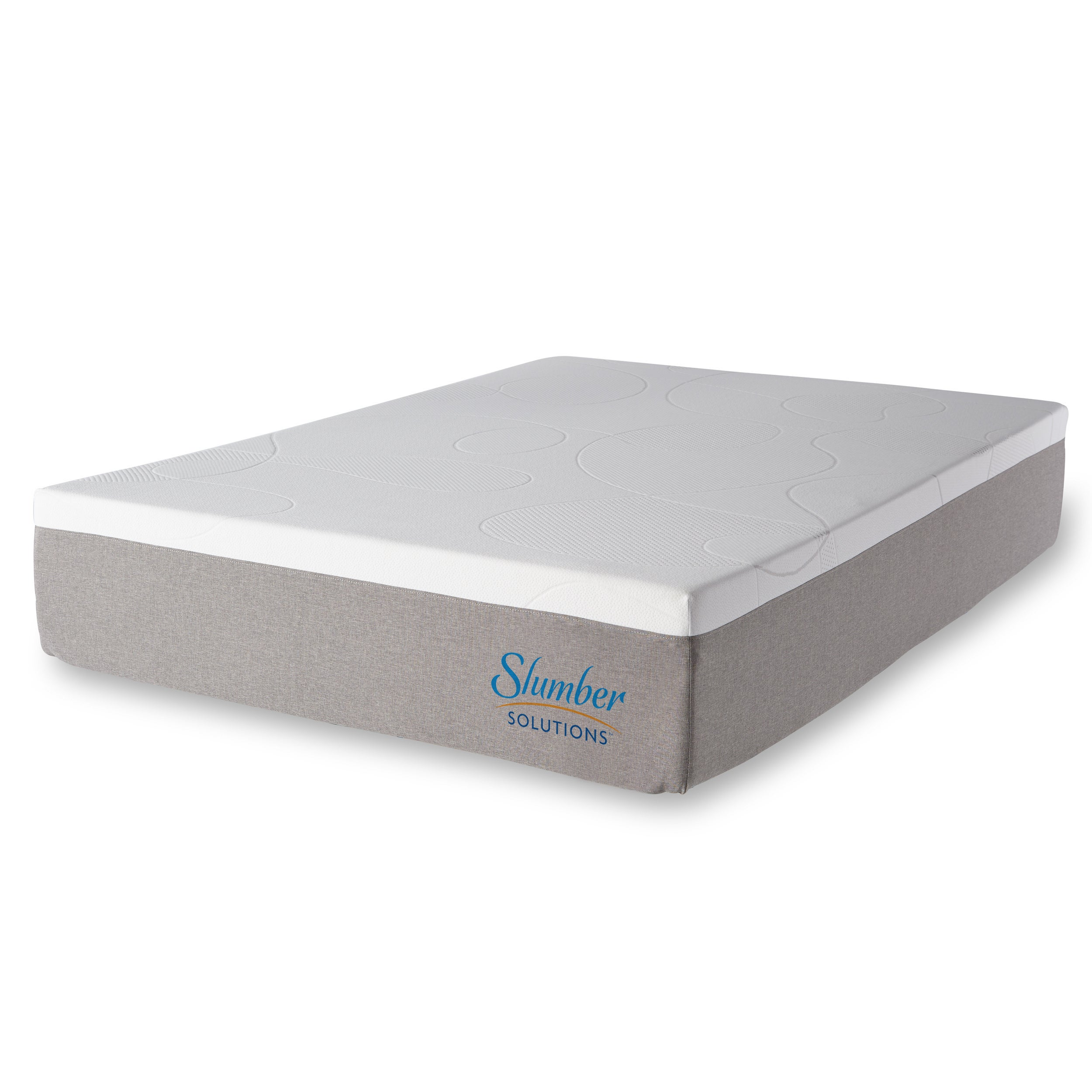 Slumber Solutions Choose Your Comfort 14 Inch Full Size Gel Memoryfoam Mattress Free Shipping Today 15869799