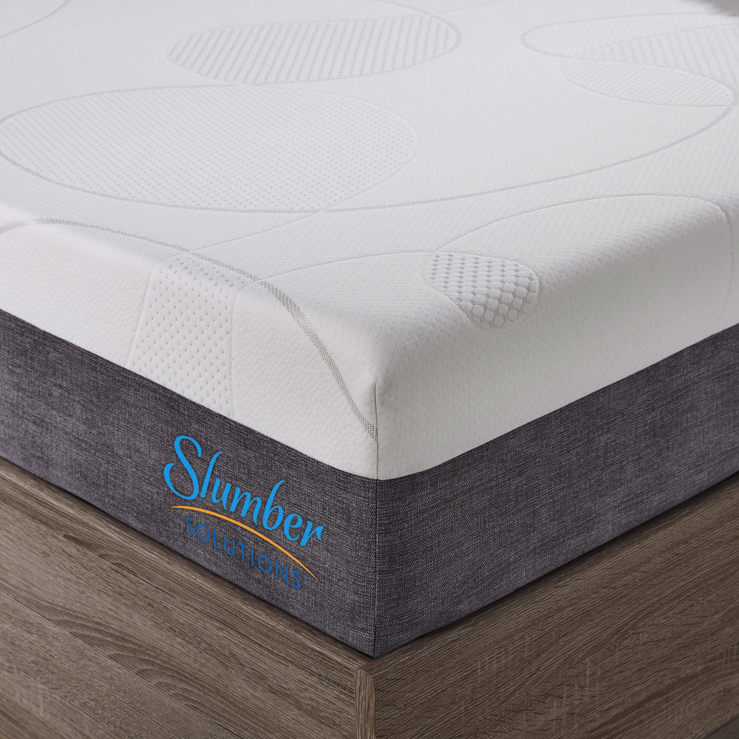slumber solutions choose your comfort 14 inch king size gel memory
