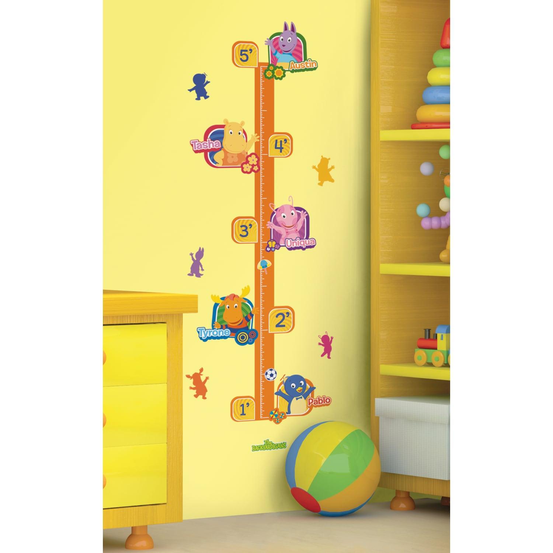 Shop Nickelodeon\'s Backyardigans Peel & Stick Growth Chart - Free ...