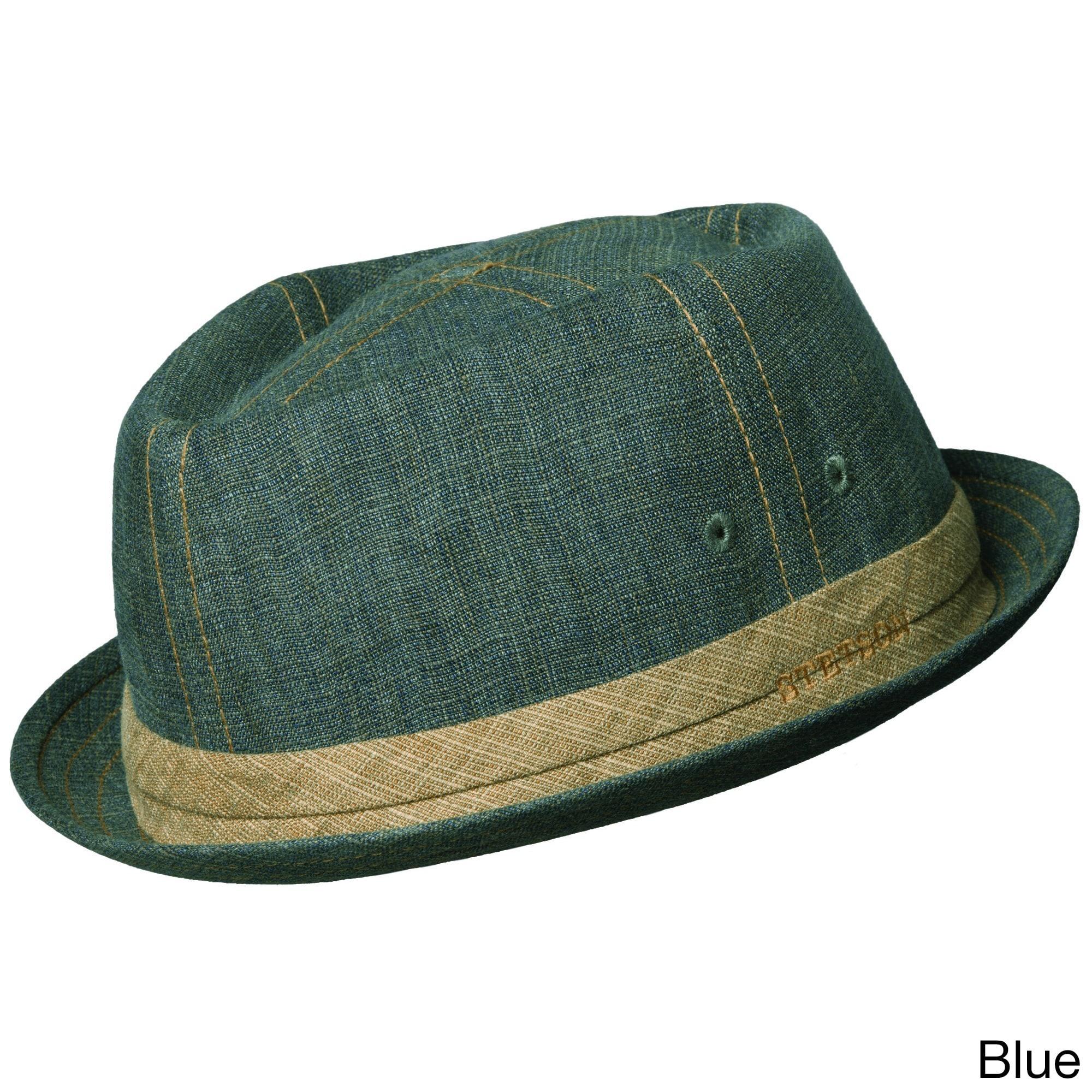 d2687f036 Stetson 'Trilby' Linen Bucket Hat