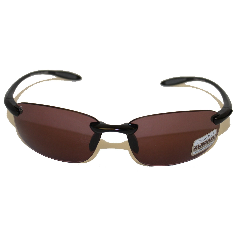 c1229eed65 Shop Serengeti Nuvola Shiny Black Polarized Sedona Sunglasses - Free  Shipping Today - Overstock - 8603533