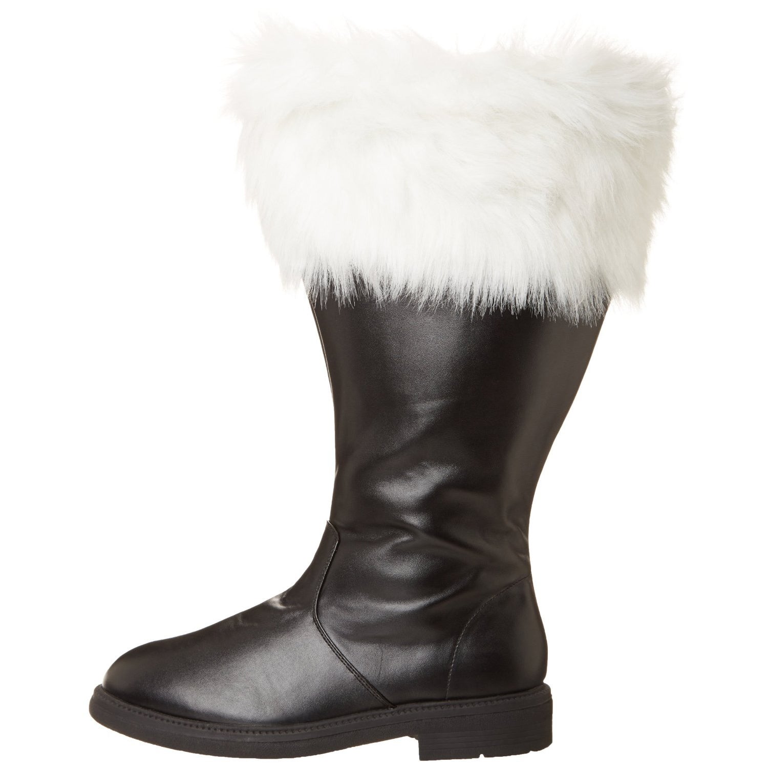 Funtasma Men's 'Santa-106WC' Black/ White Fur Top Boots - Free Shipping  Today - Overstock.com - 15873010