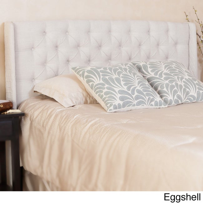 Perryman Adjule Full Queen Tufted Fabric Headboard By Christopher Knight Home Free Shipping Today 15879242