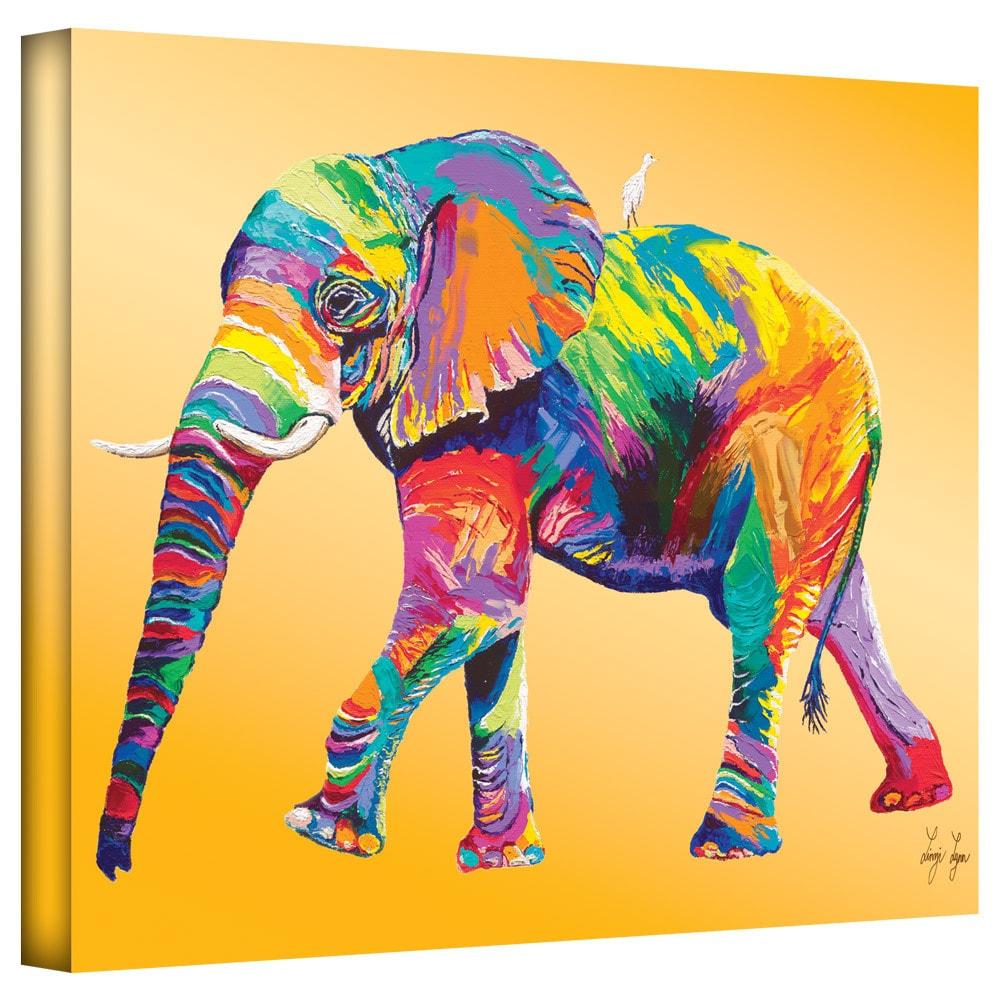 Shop Art Wall Linzi Lynn \'The Ride\' Gallery-Wrapped Canvas - On Sale ...