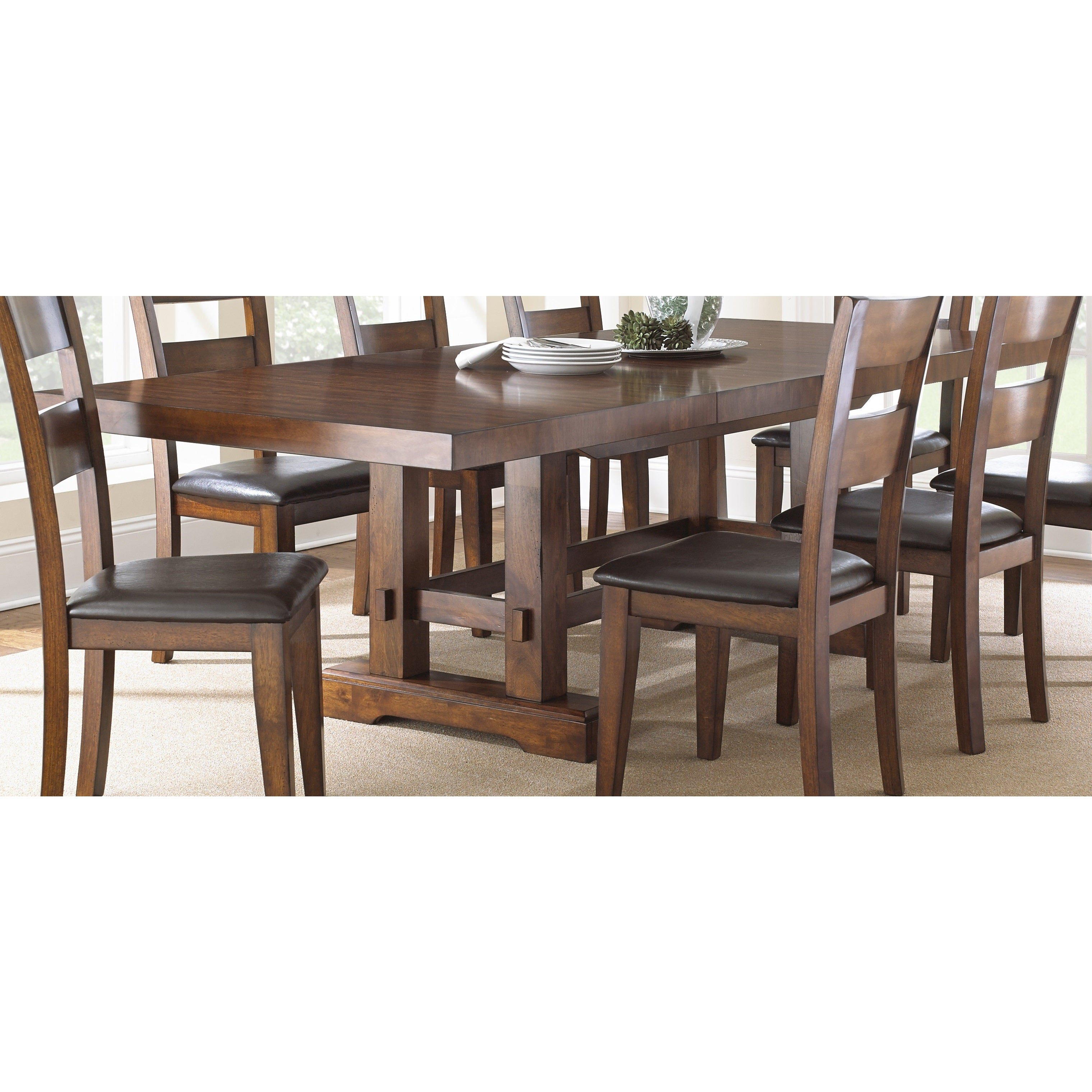 Denver 108 Inch Trestle Table By Greyson Living Free Shipping Today 15884007