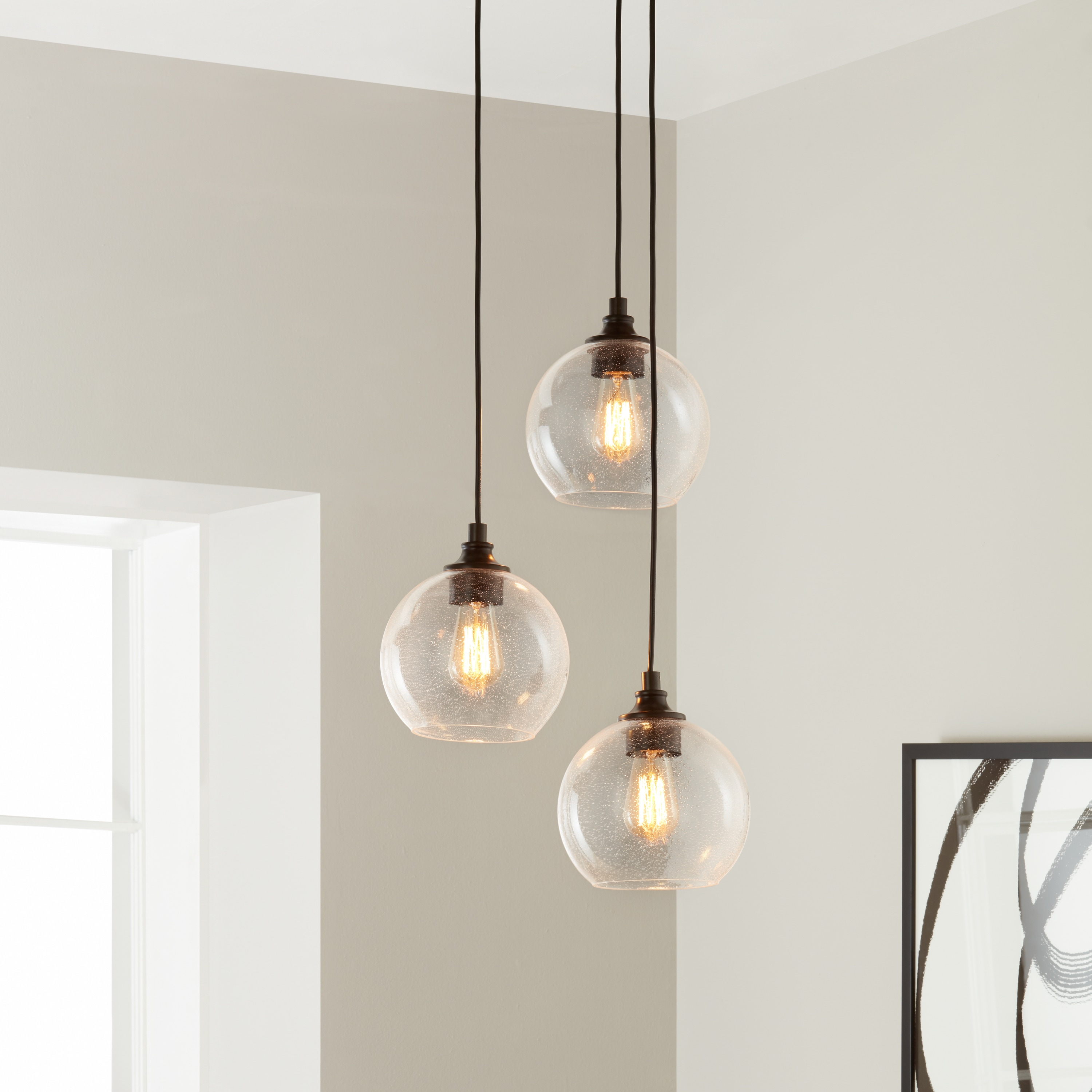 index mizu usa pendant by round terzani light multi
