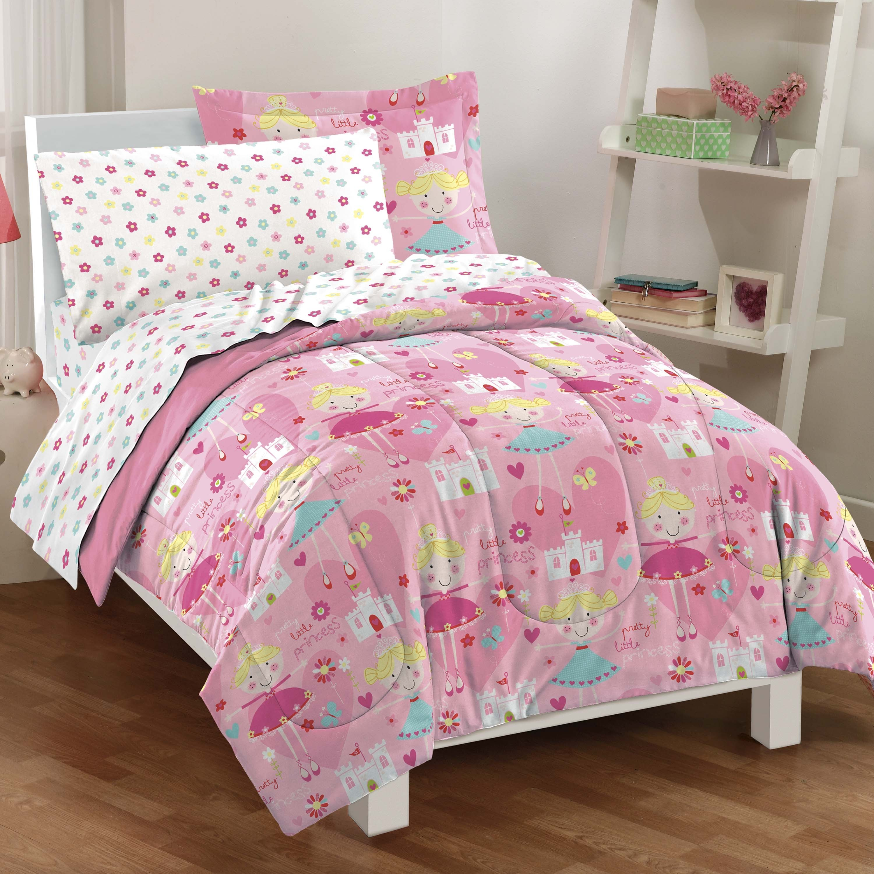 Dream Factory Pretty Princess 7 Piece Bed In A Bag With Sheet Set Free Shipping On Orders Over 45 8625231