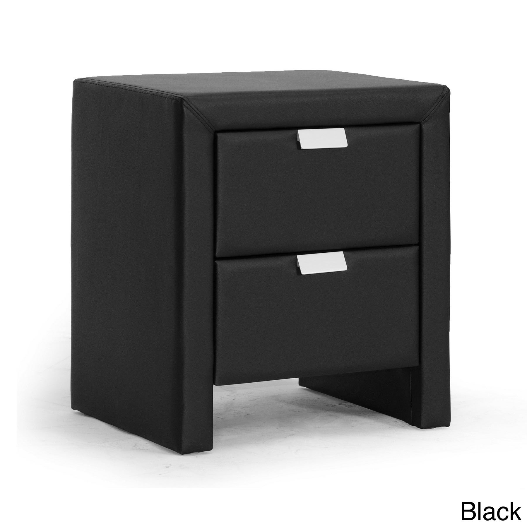 baxton studio frey upholstered modern nightstand  free shipping today overstockcom  . baxton studio frey upholstered modern nightstand  free shipping
