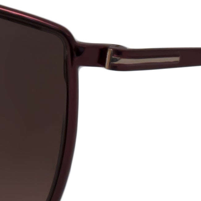 31ac05ca75 Shop Tom Ford Women s Burgundy TF0251 Evelyn Cat-Eye Sunglasses - Free  Shipping Today - Overstock - 8631579