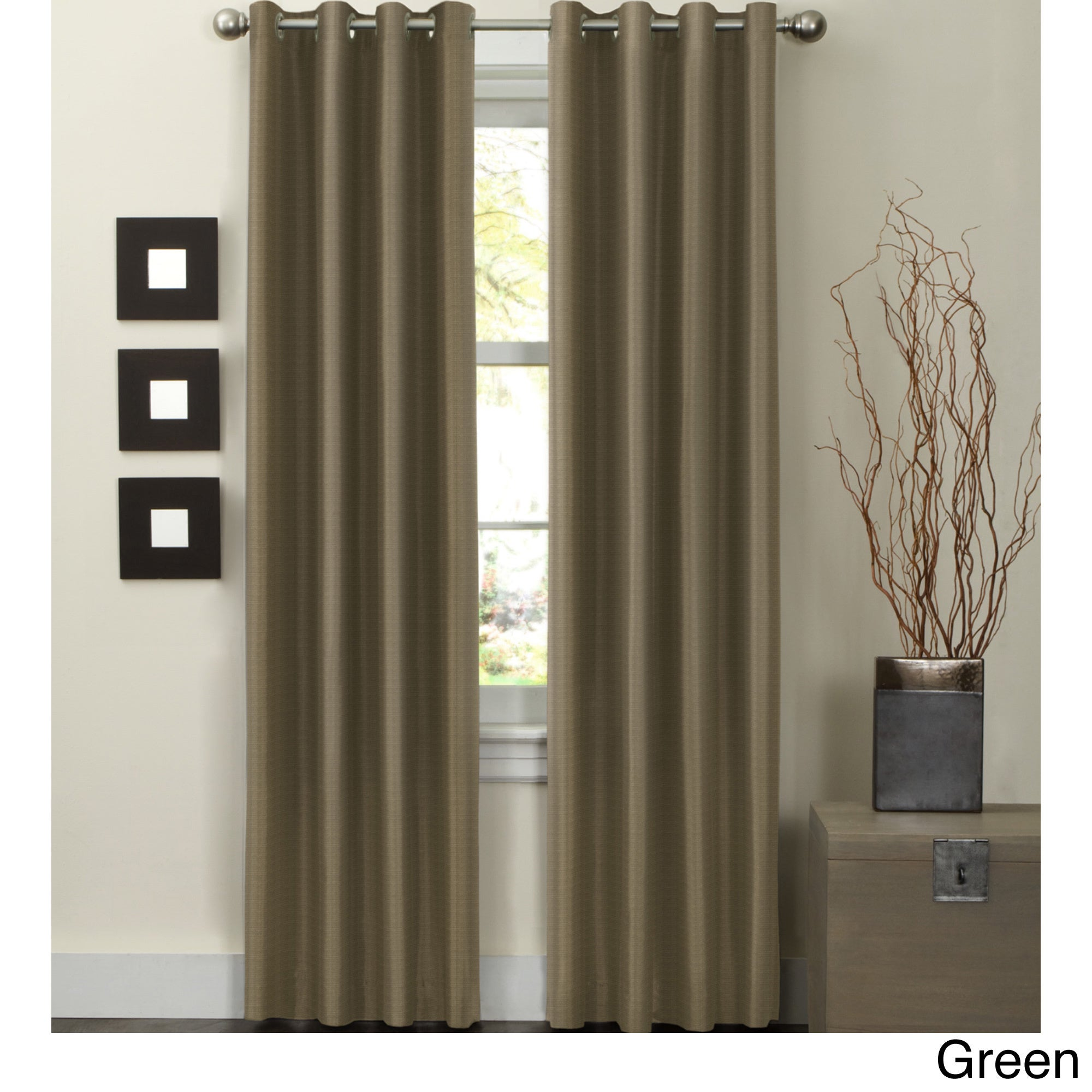 Wesley Thermal Lined 84 Inch Curtain Panel  52 X