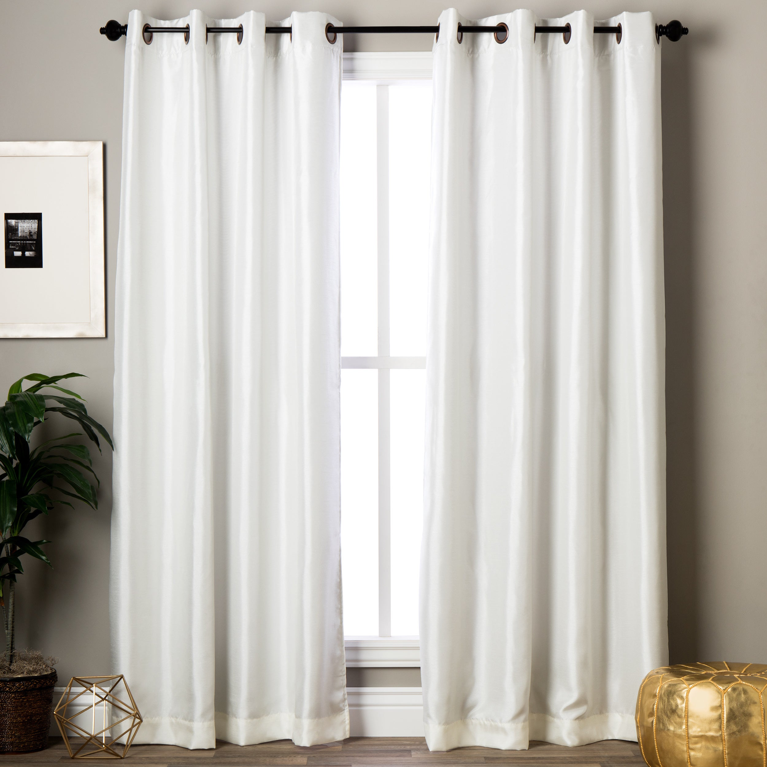 overstock home jacquard set pocket collection w panel free today garden curtains double with clayton inch shipping valance rt product designers in rod attached pair curtain of
