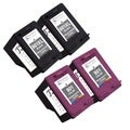 Sophia Global Remanufactured Ink Cartridge Replacements for HP 901XL and 901 with Ink Level Display (Pack of 4)
