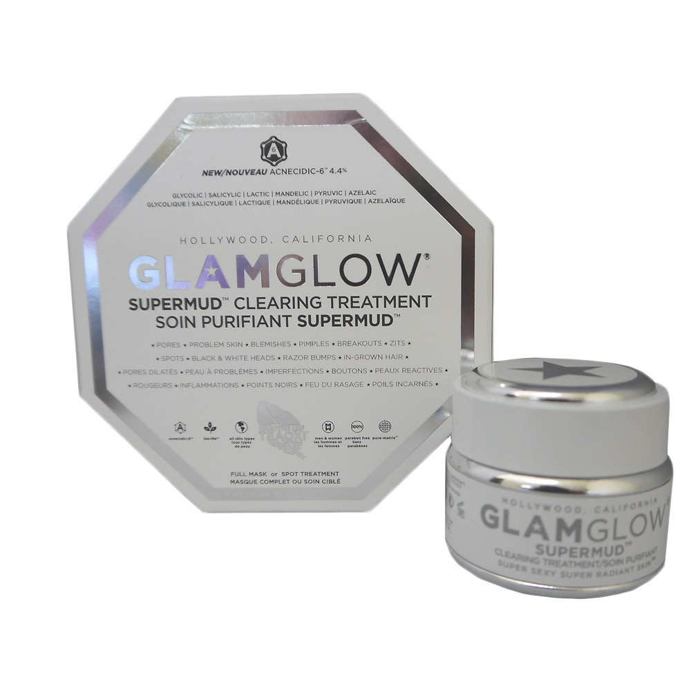 Glamglow Supermud Clearing Treatment 12 Ounce Mud Mask Travel Size Shop Free Shipping Today 8659230