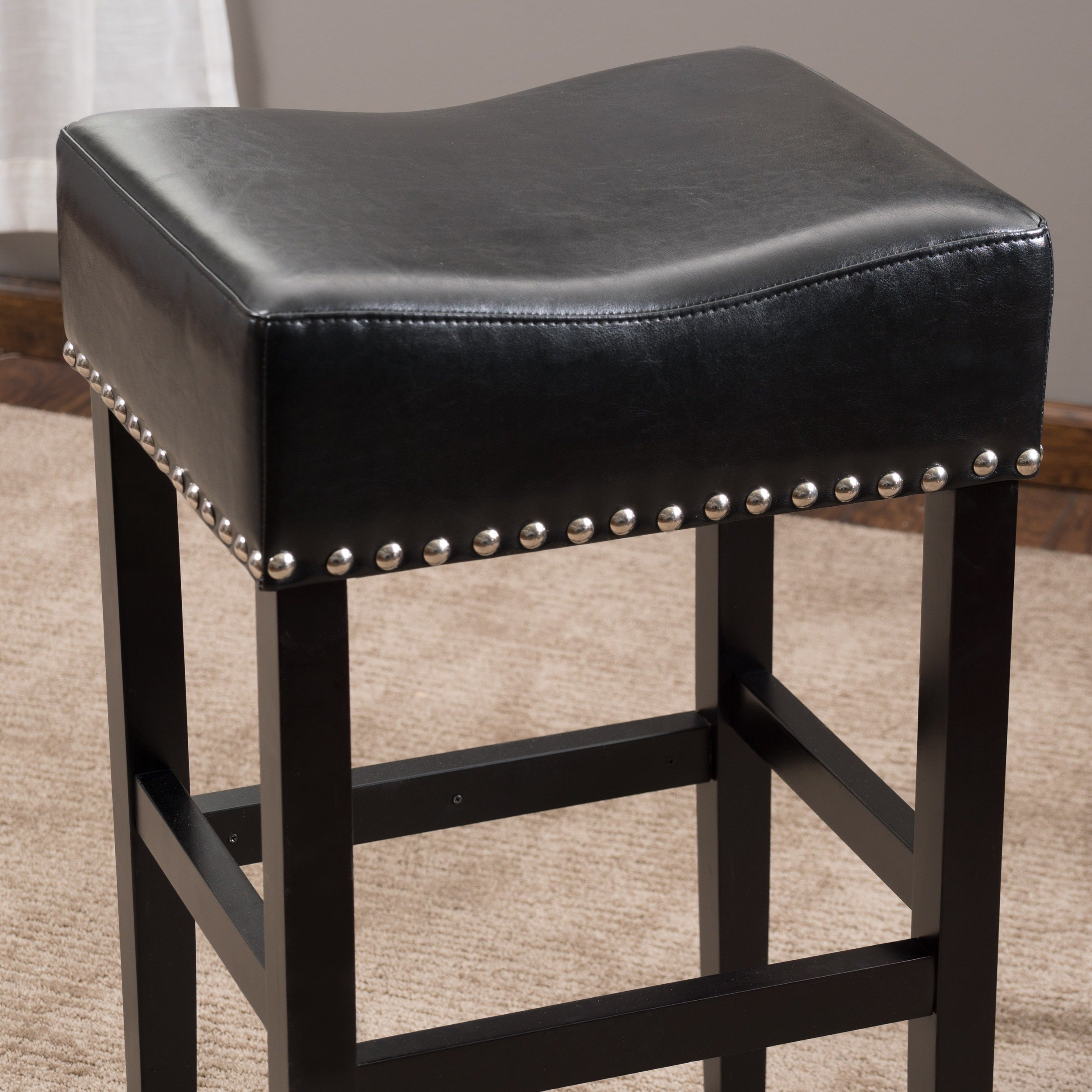 of red in stools cube rectangle pair bar stool