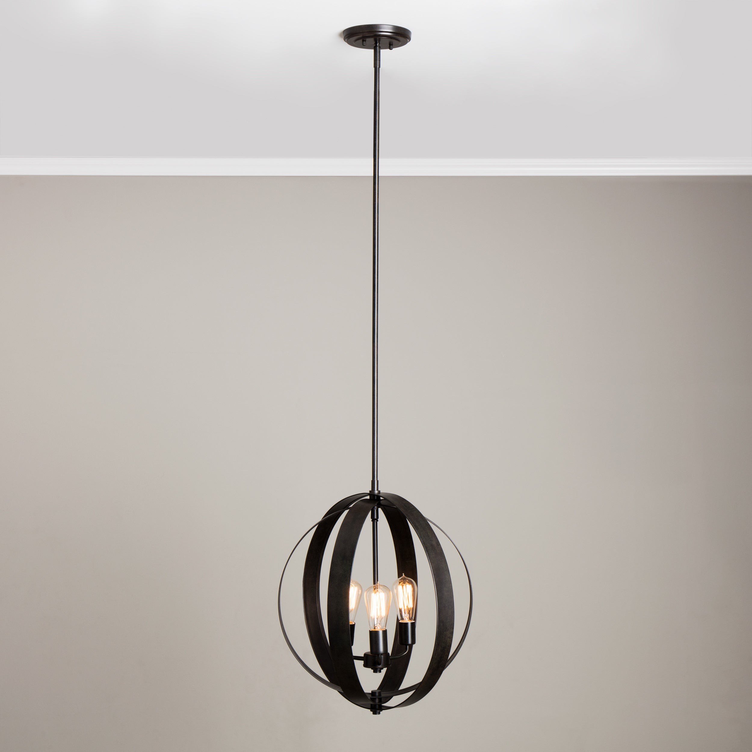 Cassidy antiqued black 3 light orb chandelier free shipping today cassidy antiqued black 3 light orb chandelier free shipping today overstock 15921216 aloadofball Gallery