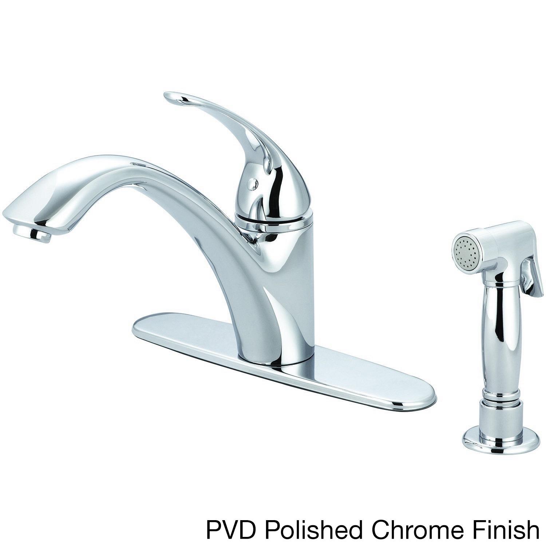 Pioneer Vellano Series 2VL161 Single-handle Side Spray Kitchen ...