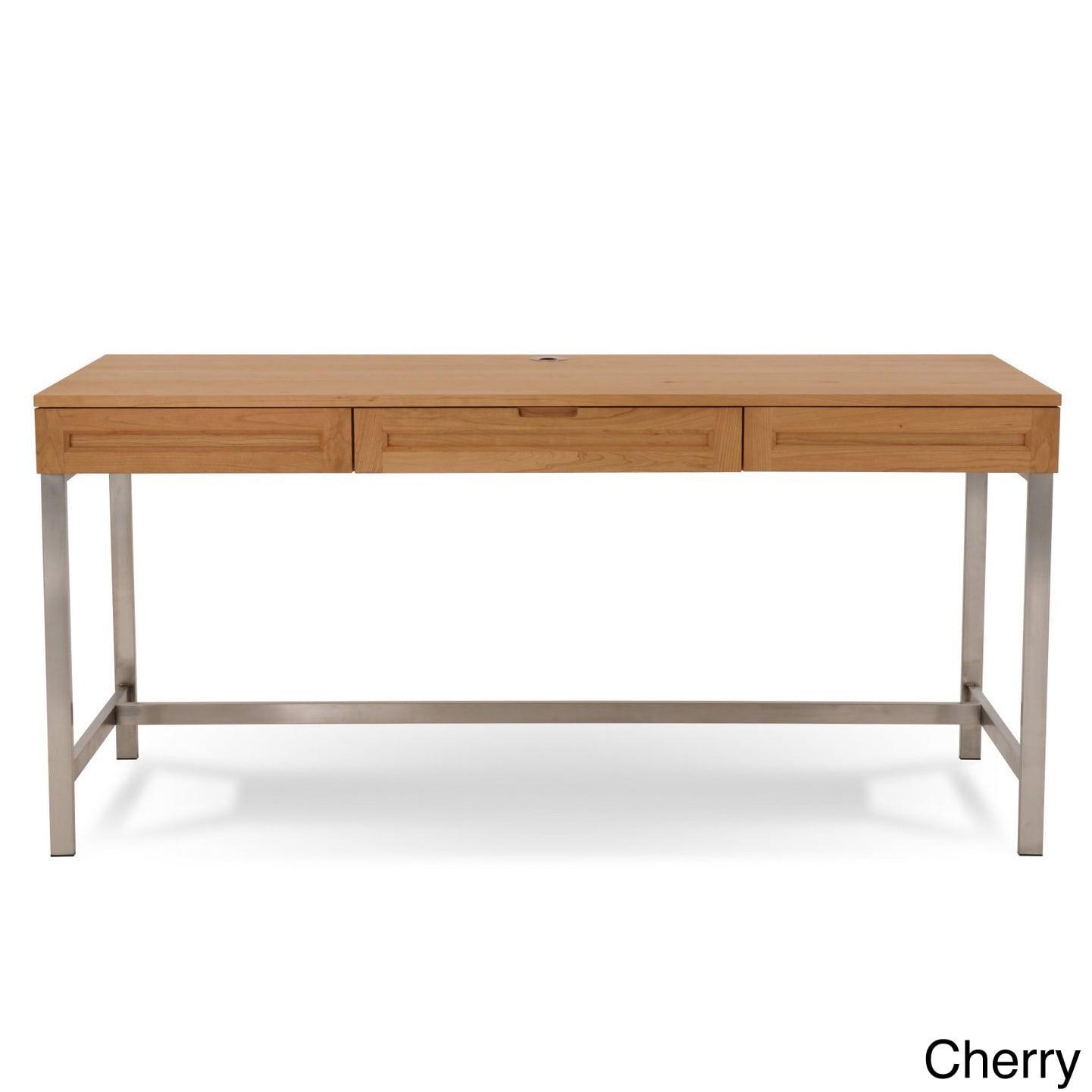 Shop Jesper Office Highland 64 Inch Solid Wood Desk Free Shipping