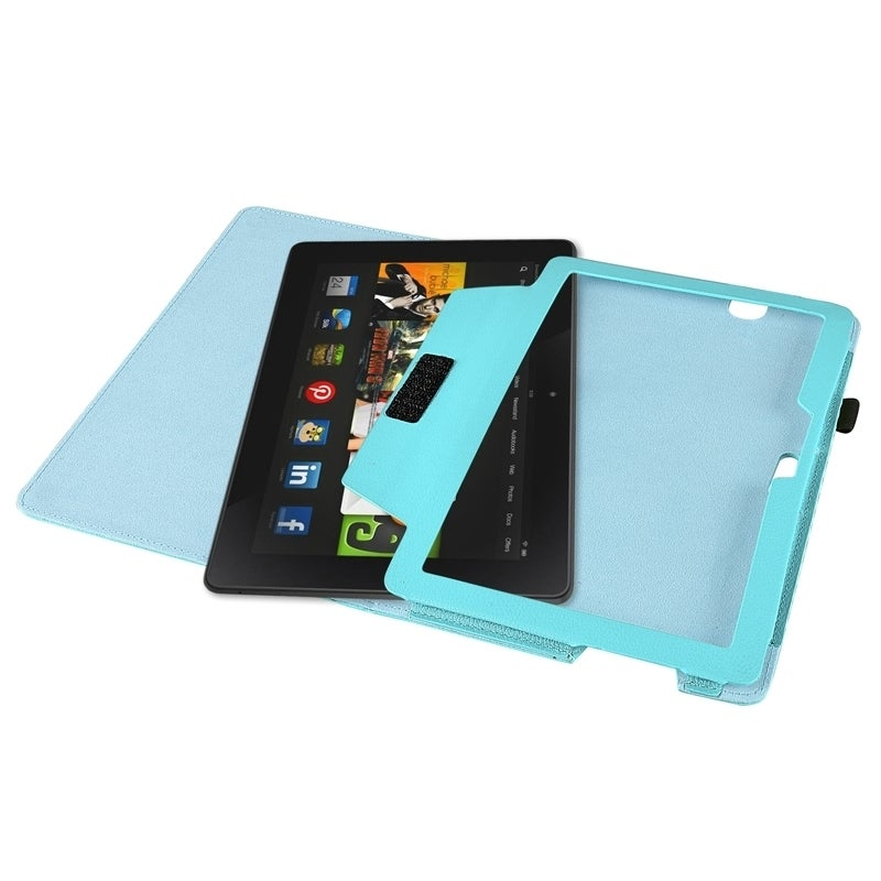 shop insten pu folio stand leather cover phone case cover for amazon