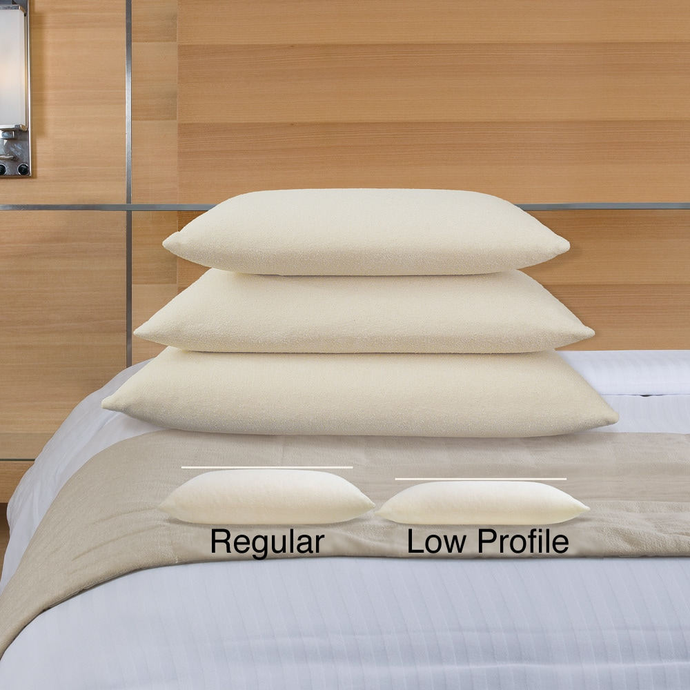 Natura World Ideal Low Profile Latex Pillow Free Shipping Today 8677119